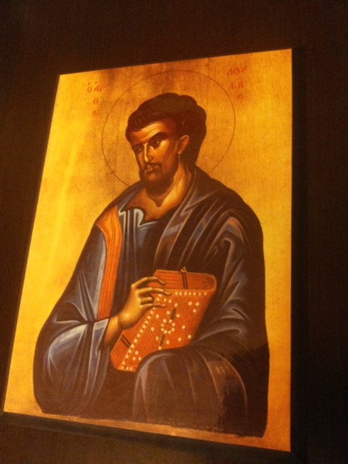 Icoana Sfantul Apostol si Evanghelist Luca