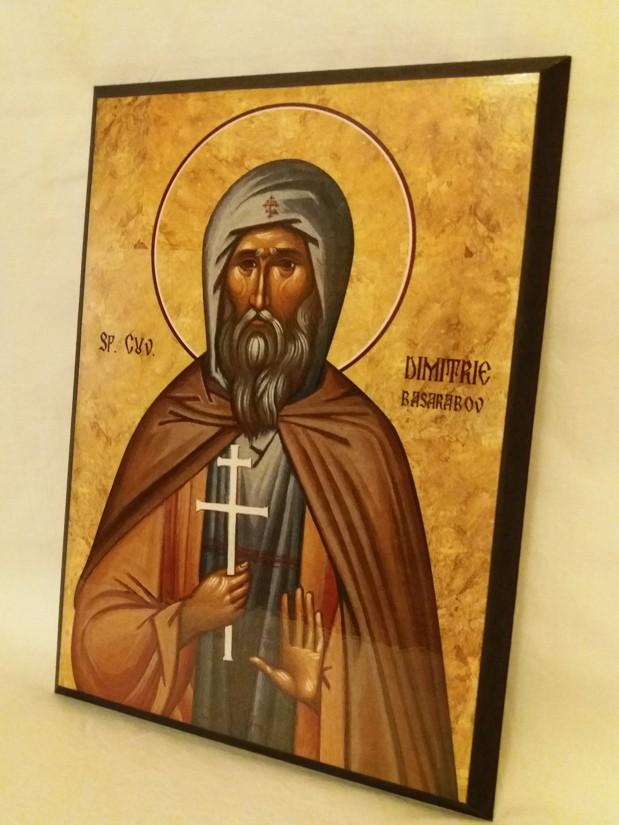 Icoana Sfantul Dimitrie Basarabov