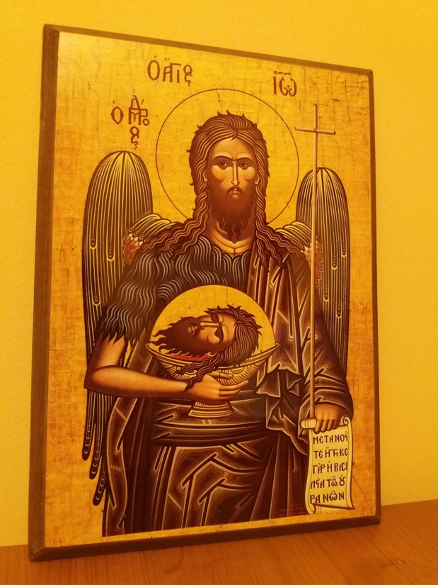 Icoana Sfantul Ioan Botezatorul 2