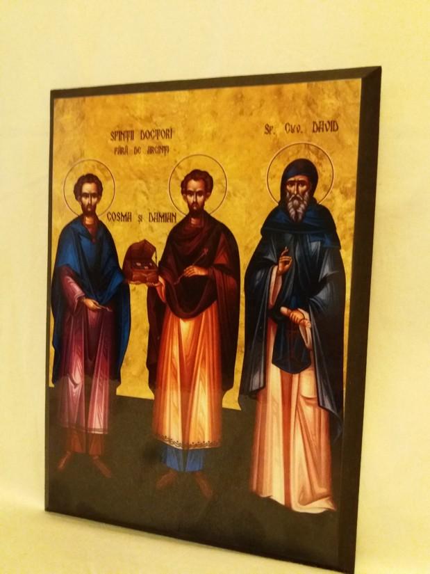 Icoana Sfintii Cosma si Damian